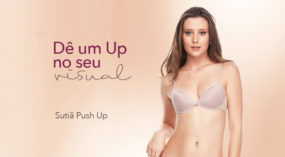 Sutiã Push Up – Seios Poderosos